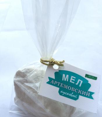 Мел Артёмовский кусковой, пробник 100 г