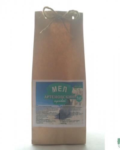 Мел Артёмовский кусковой, пакет 1 кг