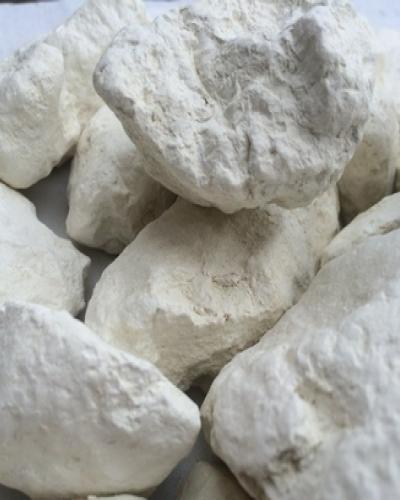 Глина Белая кусковая, пробник 100 г