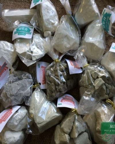 Набор пробников мела и глины для еды, 22 вида