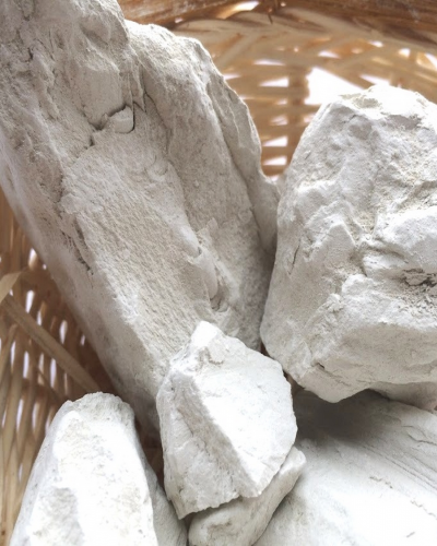 Глина Белая прессованная, 1 кг
