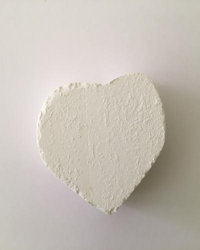 Мел фигурный Сердце, 1 шт
