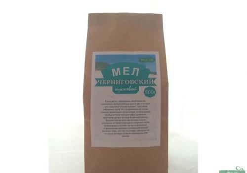 Мел Черниговский кусковой, пакет 500 г