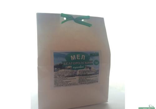 Мел Белгородский кусковой, пакет 1 кг