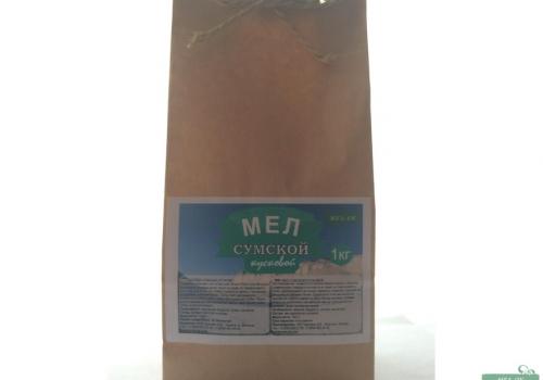 Мел Сумской кусковой, пакет 1 кг