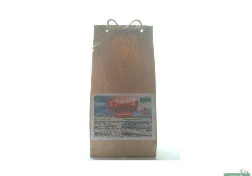 Глина Бентонит кусковая, пакет 1 кг