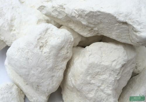 Глина Белая кусковая, пакет 500 г