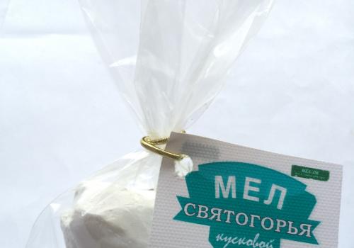 Мел Святогорья кусковой, пробник 100 г