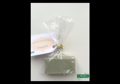 Пробник мыла с зеленой глиной и хвоей, 20 г