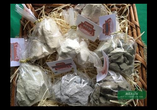 Набор пробников глины для еды, 10 видов по 100 г