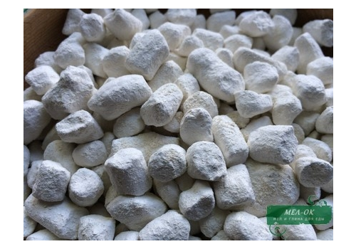 Глина Белая в гранулах, пакет 200 г