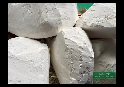 Мел Красный кусковой (Воронеж), пакет 1 кг