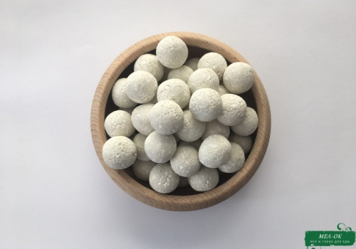 Шарики с Зеленой глиной и Мелом, 1 кг